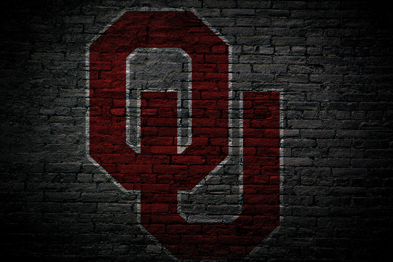 Oklahoma Sooners Painted Logo