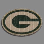 green bay packers wood