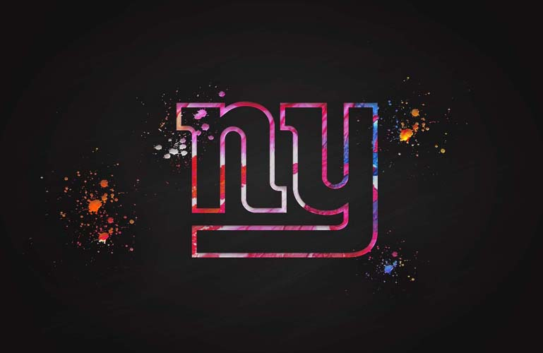 new york giants painting 3d